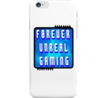 F0rever Unreal Gaming Logo 2 iPhone Case/Skin