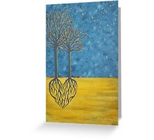 Growing Together Greeting Card