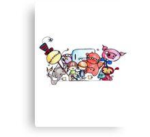 IMOK Colour Pencil Canvas Print