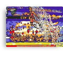 Jordan in Motion Canvas Print