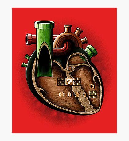 Plumbing in my heart Photographic Print