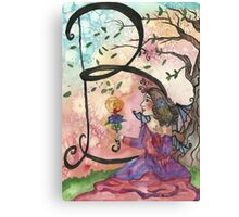 B is for Belle Canvas Print
