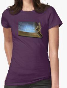 Small Wooden Manikin Using A Dictionary T-Shirt