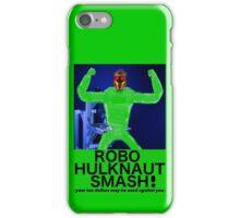 ROBO HULKNAUT SMASH! iPhone Case/Skin