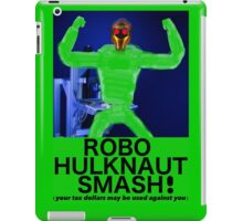 ROBO HULKNAUT SMASH! iPad Case/Skin
