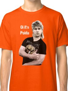 Poida Full Frontal Aussie Funny Shirt Classic T-Shirt