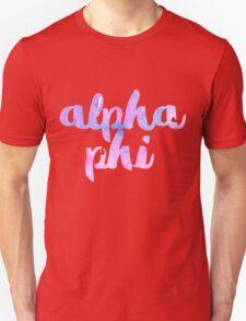 alpha phi retro sky Unisex T-Shirt