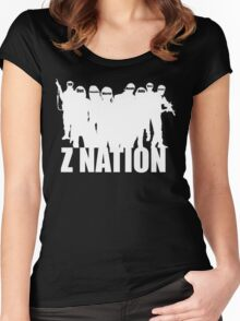 Z Nation Silhouette Women's Fitted Scoop T-Shirt