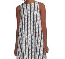 Art in Mixed Media #1 A-Line Dress