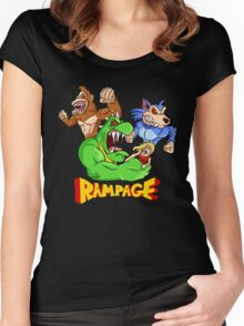 Rampage Women's Fitted Scoop T-Shirt