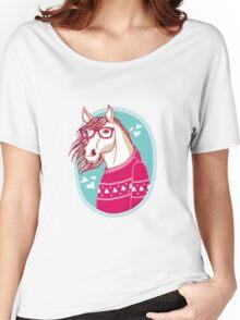 horse Women's Relaxed Fit T-Shirt