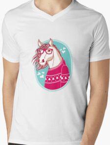 horse Mens V-Neck T-Shirt