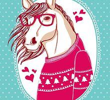 horse by moryachok