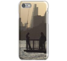 Life By The River Thames, London iPhone Case/Skin