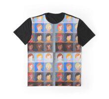 Pop Art Portrait Variations Graphic T-Shirt
