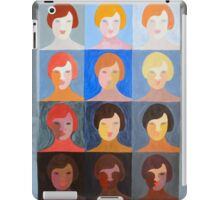 Pop Art Portrait Variations iPad Case/Skin