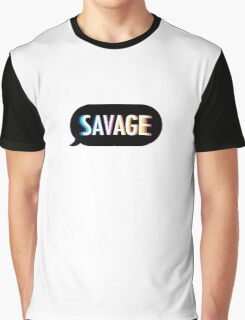 Kim Kimijo Savage Emoji app logo funny slogon design Graphic T-Shirt
