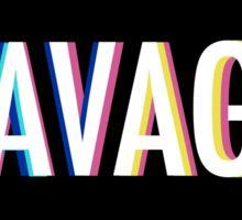 Kim Kimijo Savage Emoji app logo funny slogon design Sticker