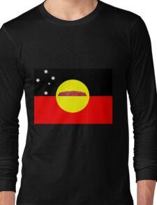 Koori Australian Flag  Long Sleeve T-Shirt