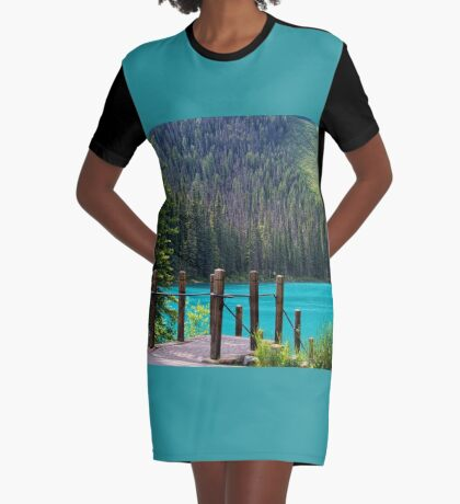 Emerald Lake ~ Nothing Can Hold Me Back Graphic T-Shirt Dress