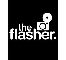 Photographer The Flasher Photographic Print