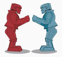 Rock 'Em Sock 'Em Robots Kids Tee