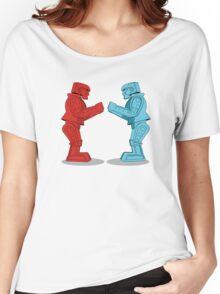 Rock 'Em Sock 'Em Robots Women's Relaxed Fit T-Shirt
