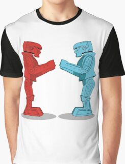 Rock 'Em Sock 'Em Robots Graphic T-Shirt