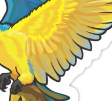 bird parrots Sticker