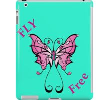 Fly Free Pink iPad Case/Skin