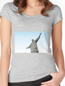 Christ The Redeemer Women's Fitted Scoop T-Shirt