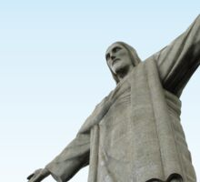 Christ The Redeemer Sticker