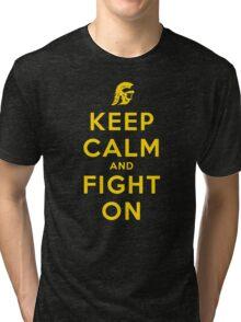 USC Fight On (Blackout) Tri-blend T-Shirt
