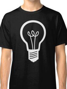 Simple Light Bulb Classic T-Shirt