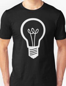 Simple Light Bulb Unisex T-Shirt