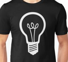 Simple Light Bulb Unisex T-Shirt