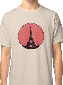 Paris Eiffel Tower - Minimalist Design (silhouette) Classic T-Shirt