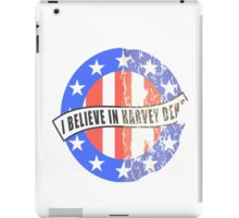 I Believe In Harvey Dent iPad Case/Skin