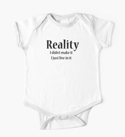 Reality One Piece - Short Sleeve