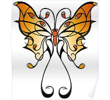 Fun Playful Butterfly! Poster