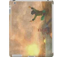 Yoga face to the Sun - 瑜伽面对太阳 iPad Case/Skin