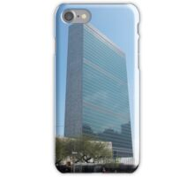 United Nations Building New York iPhone Case/Skin