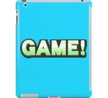 Super Smash Bros - GAME! Wii U/3DS Version iPad Case/Skin