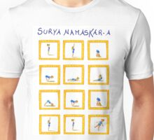 Surya Nanaskar-A The Sun Salutation Unisex T-Shirt