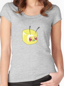 Pokémon, Butter-free Women's Fitted Scoop T-Shirt