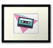80's Mix Tape Framed Print