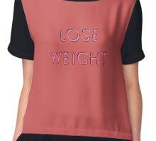 Lose Weight Chiffon Top