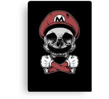 Mario Death Squad Canvas Print
