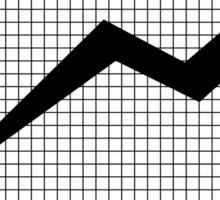 Business Chart Graph Art Sticker