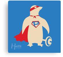 Super Penguin!!! Canvas Print